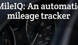 MileIQ: An automatic mileage tracker